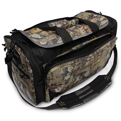 Oilfield Camo Premium Travel Bag